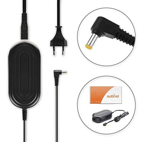 subtel® Qualitäts Netzteil kompatibel mit Fuji FinePix S9600 S5600 S9500 S7000 S5700 S5000 S5800 S5500 S8000fd, F30 F31fd F40fd -, AC-5V, 5V Stromadapter AC Adapter Netzadapter