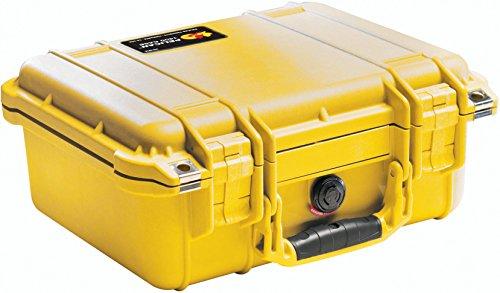 Pelican Estojo de transporte para vários dispositivos - Embalagem de varejo - Amarelo, tamanho único (1400-000-240)