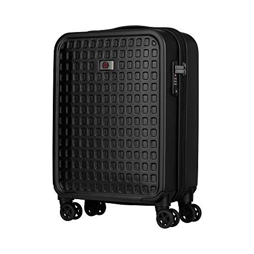 Wenger Matrix Handgepäckkoffer - Trolley Hartschale TSA-Schloss 4 Rollen erweiterbar 40x55x20 - Schwarz