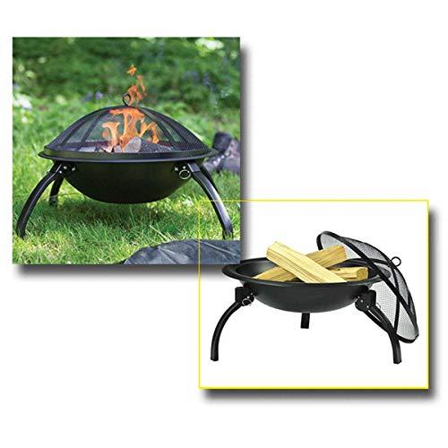 41QPuQZukEL - X&JJ Tragbare BBQ Grill, Feuerstelle Herd japanische Art-Aluminiumlegierung Charcoal Grill Grill Zubehör Barbecue-Ofen