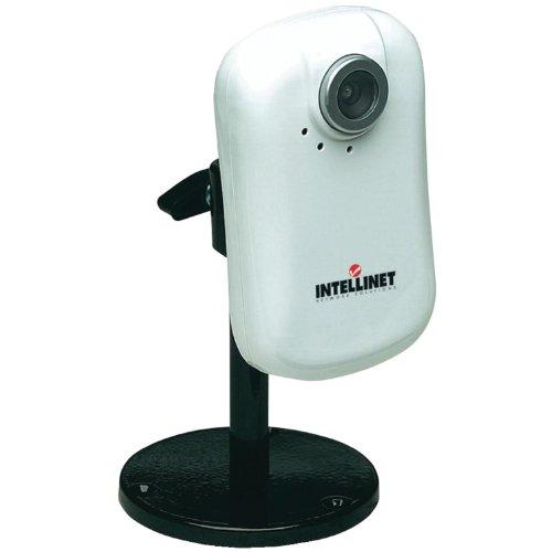 Intellinet NSC15 Netzwerk Kamera (Motion-JPEG und MPEG4, Audio, 300k CMOS) weiß