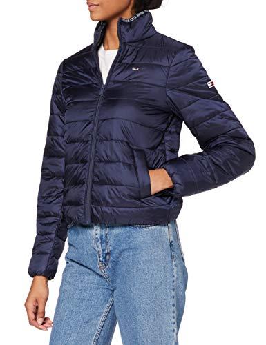 Tommy Jeans Damen TJW QUILTED ZIP THROUGH Jacke, Marineblau (Twilight Navy), Large