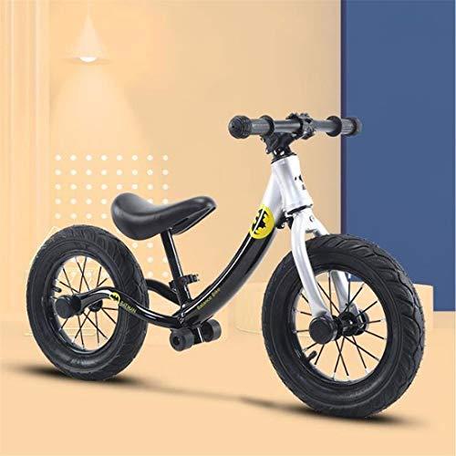 Dsrgwe Vélo Bébé Draisienne,Vélo d'équilibre, Draisienne, 12' Pas de pédales Strider vélo,...