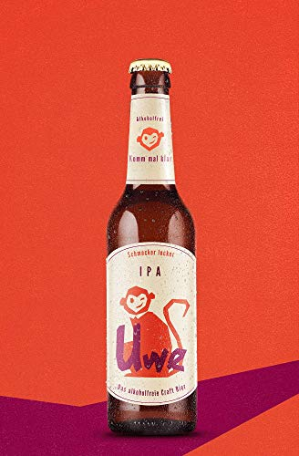 Uwe – das alkoholfreie Craft Bier   IPA   6 x 0,33l