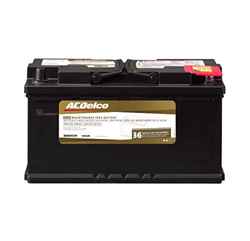 ACDelco 49AGM Professional AGM Automotive BCI Group 49 Battery