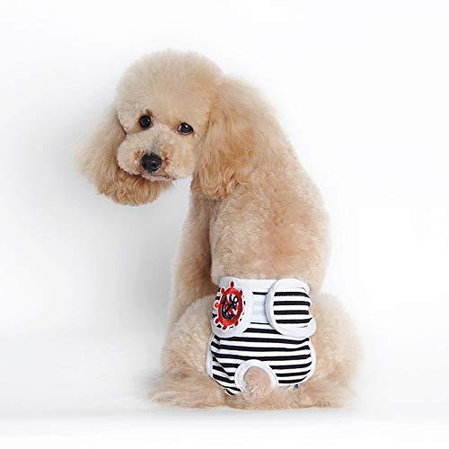 Hundekleidung Haustier Jacke Haustier Shorts Für Hündin Hygienehöschen Für Hunde Windeln Kleine Hunde Shorts Baumwolle Hund Physiologische Hosen Sous Vetement Femme Xlwaist45