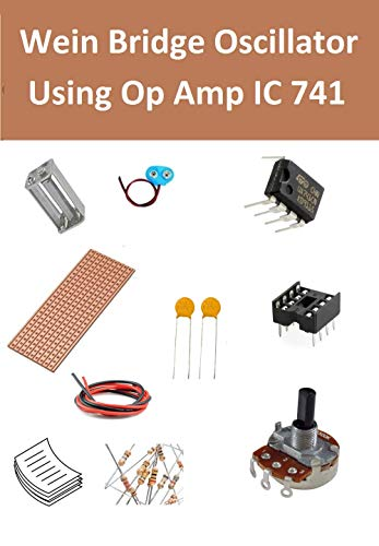 INVENTIONS Pack of 10 Kits x Wein Bridge Oscillator Using Op Amp IC 741