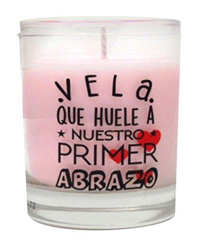 Aromatium Vela Perfumada Mensaje Soñar Olor A Donut, Multicolor, 109 Unidad