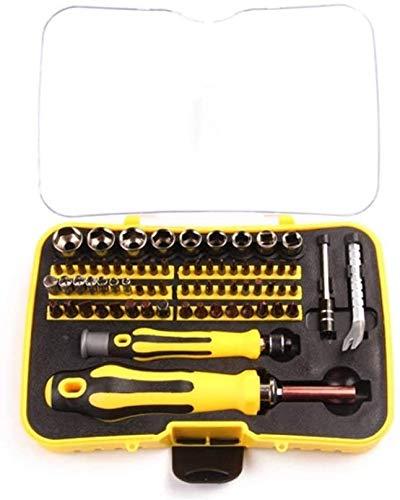 Juego de herramientas magnéticas Conjunto de precisión de 70 piezas con kit de herramientas de reparación de electrónica de kit magnético de 65 bits para iPhone, iPad, Macbook, computadora, computador