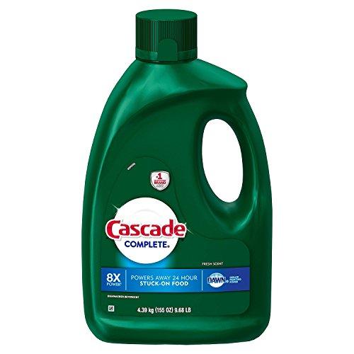 Cascade Complete Gel Dishwasher Detergent, Fresh Scent (155 oz.)