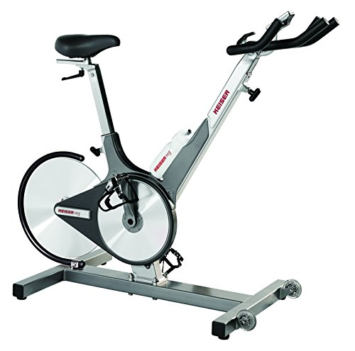 Keiser Bicicleta estática Cycle M3, 005501PBC, Color Platino