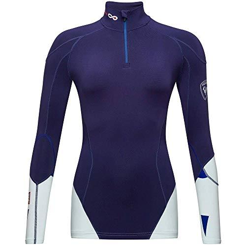 Rossignol Infini Compression Race Top Camiseta Térmica, Mujer, Nocturne, L