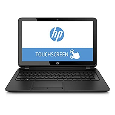 HP 15-F222WM 15.6  Touch Screen Laptop (Intel Quad Core Pentium N3540 Processor, 4GB Memory, 500GB Hard Drive, Windows 10)