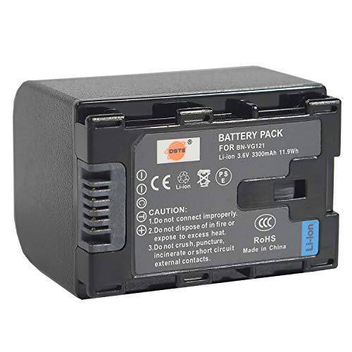 DSTE Repuesto Batería para JVC BN-VG121 GZ-E10 GZ-E100 GZ-E100SEU GZ-E105BEK GZ-E105BEU GZ-E105REK...