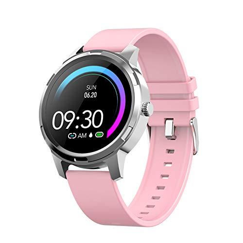 N \\ A Smartwatches für Frauen, 1,3-Zoll-Touchscreen, IP67 wasserdicht, Smartwatch für Android- und iOS-Telefone, Fitness Tracker-Uhr mit Schlafmonitor