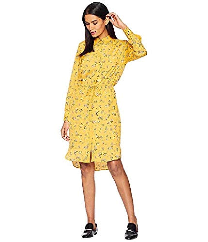 [LAUREN Ralph Lauren(ローレンラルフローレン)] レディースウェア?ジャケット等 Floral Crepe Shirtdress Gold Multi US 14 (XXXL) [並行輸入品]