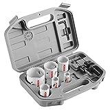 Bosch HSBIM9 General-Purpose 9 pc. Bi-Metal Hole Saw Kit