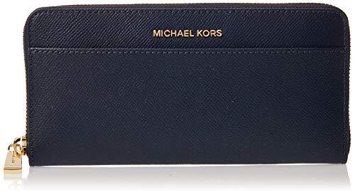 Michael Kors Damen Wallets Geldbörse, Blau (Admiral), 3x11x21 cm