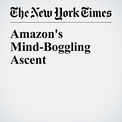Amazon's Mind-Boggling Ascent copertina