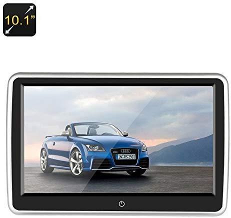 10,1 inch hoofdsteunen auto dvd-speler - touch screen resolutie 1024 x 600 16: 9 vrije regio speelfunctie
