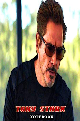 Tony Stark: Whatever It Takes ; Marvel Avengers Iron Man Superhero Gift Notebook Journal 6 x 9 inches