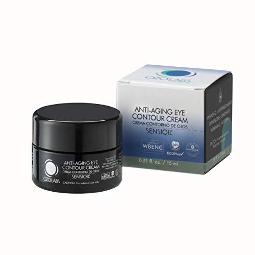 CREMA CONTORNO DE OJOS | OZOLABS | Con aceites ozonizados certificados ecológicos | Sello EcoPlus | ISO 9001 | 15 cc