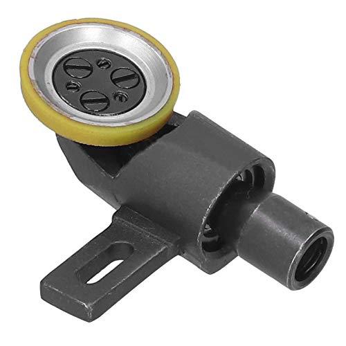 WNSC Pied à Rouler en Cuir, Pied-de-biche à Rouleau Remplacement Durable pour Machine à Coudre à Domicile pour Pied-de-biche de Machine à Coudre(Outer Diameter 26mm)