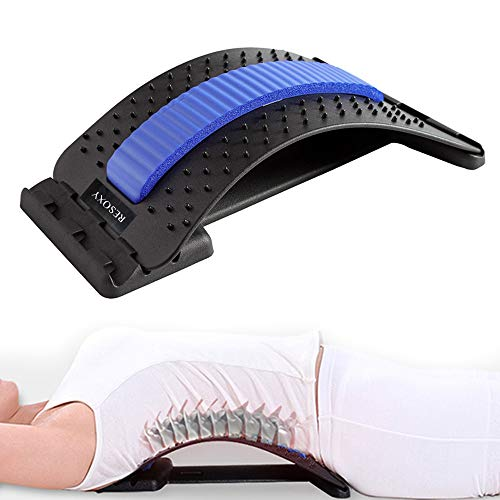 Back Stretcher Lumbar Back Pain Relief Device 3 Level Back Massage Lumbar Pain Relief Lower and...