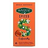 Cafés Baqué- Spiced Cápsulas compostables compatibles con Nespresso® (120 Cápsulas)