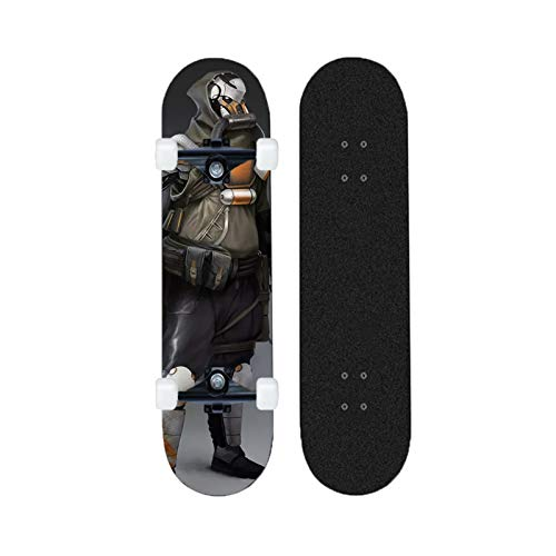 Yizhi Longboard Standard Skateboard Assassin'S Creed Beginners Scooter Adulto Boys and Girls Professional Patinetas