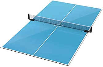 GamePoint Tables Table Tennis Conversion Top - Includes Net and Foam Backing for Protection