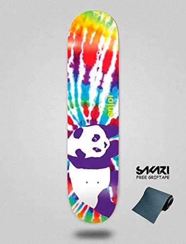 Enjoi Tie Dye V6 R7 Multy 8.125 Monopatín Skate Skateboard Deck