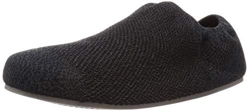 [グンゼ] ルームシューズ UCHI-COLLE ウチコレ 大人のうわばき 深履きタイプ ADK451 メンズ ミックスブラック 日本 25-26 (日本サイズM-L相当)