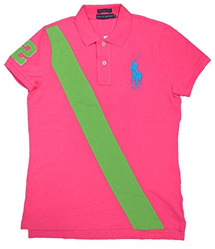 Ralph LaurenDamen Poloshirt Rosa Bright Pink