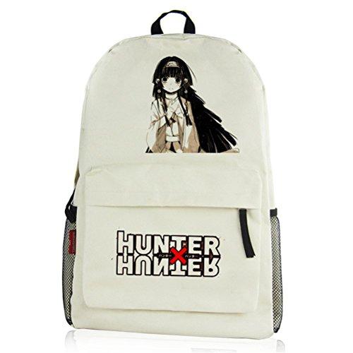yoyoshome Anime Hunter X Hunter Cosplay Schultasche Messenger Bag Rucksack Schule Tasche, Hunter13 (beige) - 10fedDnry6k6