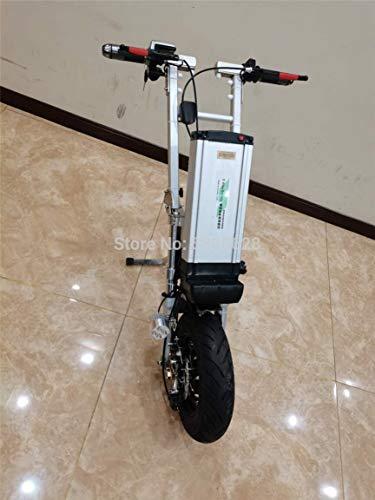 GNLIAN HUAHUA Silla de Ruedas eléctrica Hot Hale 500W Motor Motor Remolque de Silla de Ruedas Discapacitado Handbike eléctrico 12 Pulgadas Neumático al Aire Libre (Color : Conect on Both Side)