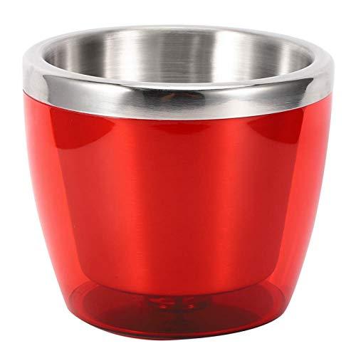 Cubo de Vino - Mini Cubo de Vino de Acero Inoxidable para el hogar Cocina Bar KTV Hotel Ice Champagne Beer