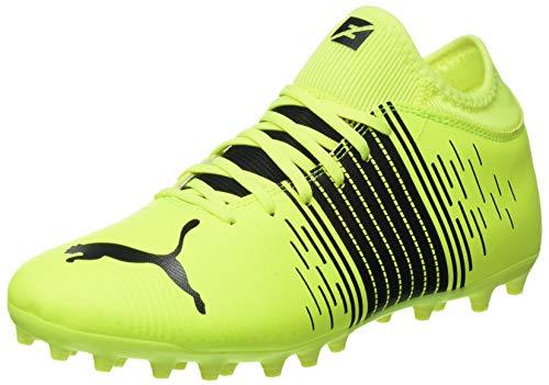 Puma Herren Future Z 4.1 MG Fußballschuh, Yellow Alert Black White, 40 EU