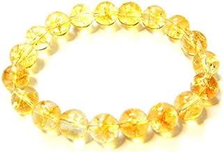 Zoya Gems & Jewellery Natural Citrine smooth round Stretchable Bracelet Size 10 MM Approx.