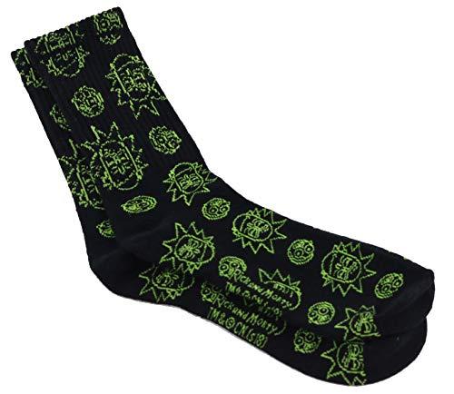 Apunis Original calcetines Largos Rick Acero inoxidable,