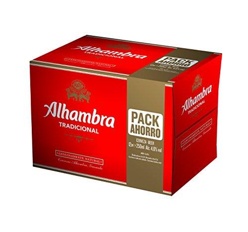 Bier Alhambra Tradicional 12x25cl (Box 12 Flaschen)