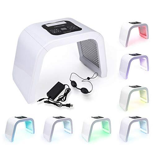 F-JX 7 Couleurs PDF Professional Visage Luminothérapie LED Rajeunissement de la Peau Appareil Spa acné Remover Anti-Rides Soins de beauté Salon de beauté