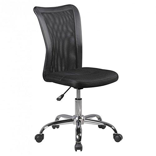 Idimex Chaise Lukas Noir AB 6jahre 60 kg pivotante chaise de bureau pour enfant