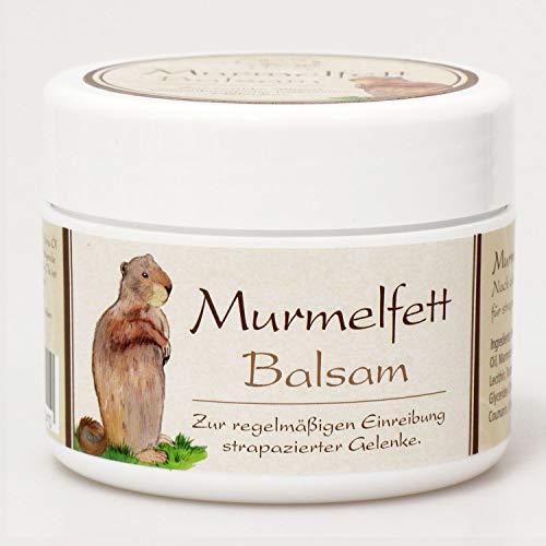 Florex Murmeltier Balsam 125ml Pflegecreme aus Österreich- intensiv pflegende gegen Verspannungen, Muskelkater und Gliederschmerzen mit desinfizierende Wirkung
