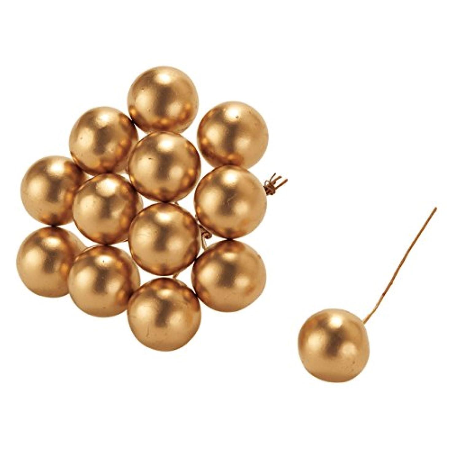 飾り羽リハーサルリファイン東京堂 クリスマス ゴールドボール20(72本入り) XK000409