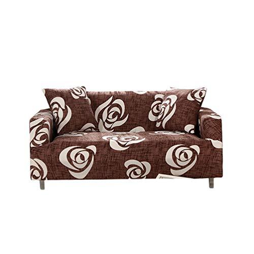 GladiolusA Stretch Bedruckt Sofa Couch Bezüge Sofa Schonbezug Sofaüberwurf Elastische Sofahusse Universal Passform Sessel Loveseat Möbelschutz Stil 7 2 Sitzer für Sofalänge 145-185cm