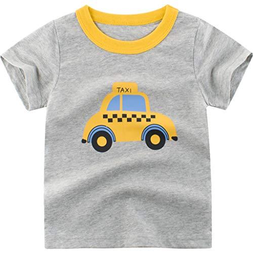 URSING Sweat-Shirt Bébé de Noël, T-Shirt Unisexe à Manches Longues pour Bébé avec des Empreintes de Cerf Toddler Kids Baby Boys Letter Cartoon Dinosaur T-Shirt Tops Tee Clothes Outfits