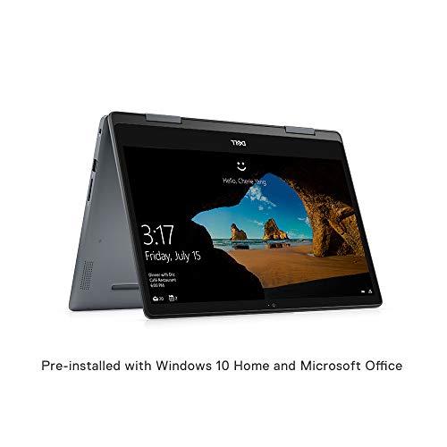 Dell Inspiron 5482 14-inch FHD 2in1 Laptop (8th Gen Core i3-8145U/4GB/512GB SSD/Windows 10 + MS Office/Intel HD Graphics/Platinum Silver)