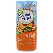 Crystal Light Peach Mango Green Tea Drink Mix, 10-Quart Canister (Pack of 3)
