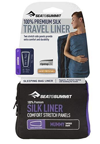 Sea to Summit Premium Blend zijde/katoen standaard travel antislip